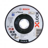 Диск карбофлексов BOSCH X-LOCK 125х1.6х22.23мм, за рязане на стомана и метал
