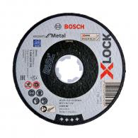 Диск карбофлексов BOSCH X-LOCK 125х2.5х22.23мм, за рязане на стомана и метал
