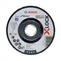 Диск карбофлексов BOSCH X-LOCK 125х6.0х22.23мм, за шлифоване на стомана и метал