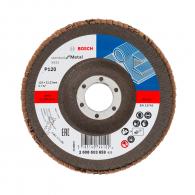 Диск ламелен BOSCH X431 125x22.23 P120, за шлайфане на метал и стомана