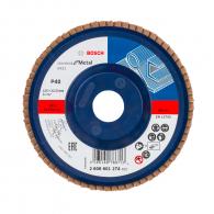 Диск ламелен BOSCH X431 125x22.23 P40, за шлайфане на метал и стомана