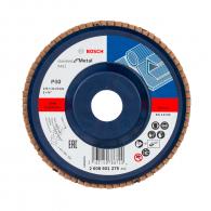 Диск ламелен BOSCH X431 125x22.23 P60, за шлайфане на метал и стомана