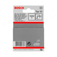 Кламери BOSCH 53/12мм 1000бр., тип 53, тънка тел, кутия