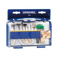 Комплект шлайфгрифери DREMEL 684 20части, комплект в куфар