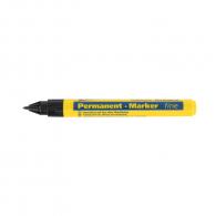 Маркер перманентен BLEISPITZ 1мм/140мм - черен, пълнител с 8мл боя