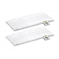 Микрофибърни кърпи за подова дюза KARCHER EasyFix Mini, за леснo и бързo се прикрепя и сваля от дюзата EasyFix Mini