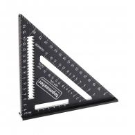 Мултифункционален прав ъгъл TOPMASTER 178мм, за измерване на ъгли, алуминий