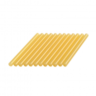 Патрони жълти за топло лепене DREMEL GG03 ф7х100мм 12броя, комплект 12бр, в кутия