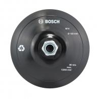 Подложка гумена за ъглошлайф BOSCH ф125мм/М14, с блокираща гайка (фланец)