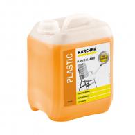 Препарат за пластмаса KARCHER 5л, за основно почистване на градински мебели, ПВЦ дограма, детски пързалк