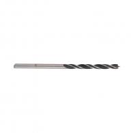 Свредло за дърво BOSCH 3х61/33мм, CV-стомана, 2 режещи ръба, цилиндрична опашка