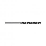 Свредло за дърво BOSCH 4х75/43мм, CV-стомана, 2 режещи ръба, цилиндрична опашка