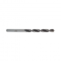 Свредло за дърво BOSCH 5х86/52мм, CV-стомана, 2 режещи ръба, цилиндрична опашка