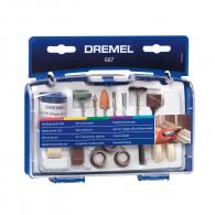 Комплект шлайфгрифери DREMEL 687 52части, комплект в куфар
