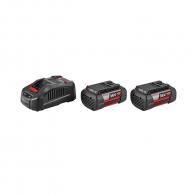 Батерия акумулаторна BOSCH GBA 36V 6.0Ah + GAL 3680, 36V, 6.0Ah, Li-Ion, к-кт