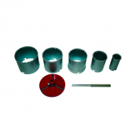 Боркорони RAIDER 33-83мм 7части, шестостен, за дърво и цветни метали