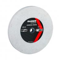 Диск абразивен прав RAIDER 200х20х16мм P60 - бял, за шлайфане, P60