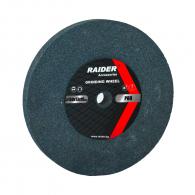Диск абразивен прав RAIDER 200х20х16мм P60 - сив, за шлайфане, P60