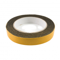 Двойнозалепваща лента MAGUS 19мм/5м, черна, полиуретанова, за вътрешно приложение