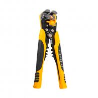 Клещи за заголване на кабел и за кабелни обувки TOPMASTER 0.5-6.0мм2, за изолирани и не изолирани обувки, двукомпонентни дръжки