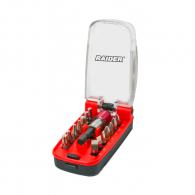 Комплект накрайници RAIDER 15части, PH, PZ, SB, ТХ, шестостен с магнитен държач
