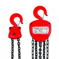Макара полиспасна верижна RAIDER RD-CB03 3t 3м, двойна верига