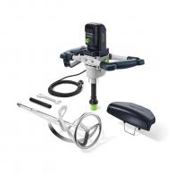 Миксер за строителни смеси FESTOOL MX 1600 /2 RE EF HS3R, 1500W, 150-650об./мин, М14/ErgoFix, к-кт с бъркалка HS3R ф140х600мм