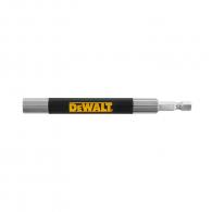 Удължител за накрайници DEWALT 120мм, 1/4'', E6.3, с магнит, за DT7702