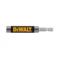 Удължител за накрайници DEWALT 80мм, 1/4'', E6.3, с магнит, за DT7701