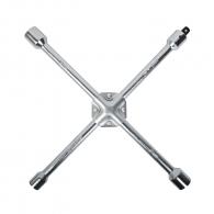 Ключ за джанти кръстат TOPMASTER 17х19х21х22мм, CrV, вътрешен шестостен