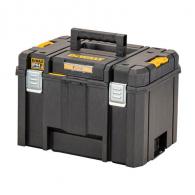 Куфар за инструменти DEWALT TSTAK IP54, полипропилен, черен
