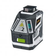 Линеен лазерен нивелир LASERLINER X2-Laser Pro, 2 лазерни линии, точност 2.0mm/10m, автоматично