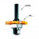 Нут фрезер CMT D=47.6мм, I=5.0мм, P=2.86мм, B=8мм, HW, Z3, RH - small