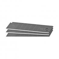 Резервно острие за макетен нож TOPMASTER 25x125мм 10броя, чупещи се 7 елемента, 10бр в блистер