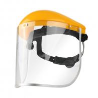 Шлем предпазен TOLSEN, прозрачен, поликарбонат