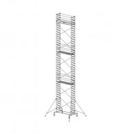 Скеле алуминиево KRAUSE Stabilo 10/250 H=3.0м, 2000х700мм, 200кг/кв.м, с колела
