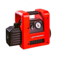Вакуум помпа ROTHENBERGER ROAIRVAC R32, 1.5, 23V, 42l за евакуиране на хладилни агенти