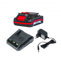 Батерия акумулаторна RAIDER Set, 18V, 2.0Ah, Li-Ion, к-кт