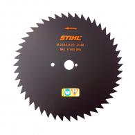 Диск циркулярен за рязане STIHL 225x20мм Z=48, на дървовидни храсти и тънки стебла