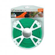 Корда STIHL 2.0мм/119м, кръгла, дължина 119м, зелена