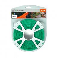 Корда STIHL 2.0мм/60м, кръгла, дължина 60м, зелена