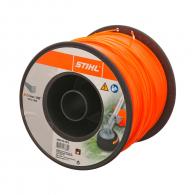 Корда STIHL 2.4мм/253м, квадратна, дължина 253м, оранжева