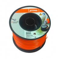 Корда STIHL 2.4мм/253м, кръгла, дължина 253м, оранжева