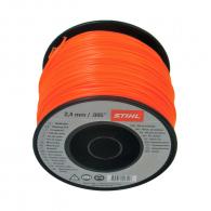 Корда STIHL 2.4мм/291м, петоъгълна, дължина 291м, оранжева