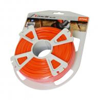 Корда STIHL 2.4мм/97м, петоъгълна, дължина 97м, оранжева