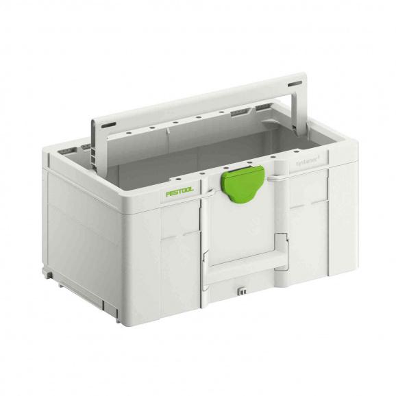 Куфар за инструменти FESTOOL SYS3 TB L 237, пластмаса, бял