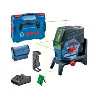 Линеен лазерен нивелир BOSCH GCL 2-50 CG Professional, 2 лазерни линии, 2 точки, точност 0.3mm/10m, автоматично