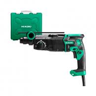 Перфоратор HITACHI/HIKOKI DH28PEC, 900W, 0-950об, 0-4300уд/мин, 3.4J, SDS-plus, безчетков