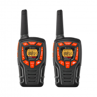 Радиостанция Cobra Walkie Talkie Two Way Radio AM845, 10км обхват, захранване 3 x AAA