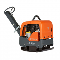 Реверсивна виброплоча HUSQVARNA Construction LG 300 DE, 4.4kW, 40kN, 725х500мм, с електрически старт